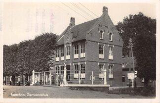 Ansichtkaart Benschop Gemeentehuis 1942 HC7611