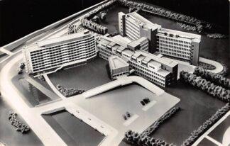 Ansichtkaart Leiden Dit wordt het nieuwe Diaconessenhuis Ziekenhuis 1960 HC7672