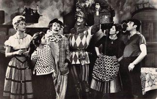 Ansichtkaart Film Filmster Pipo de Clown en Mammaloe Fotokaart HC7688