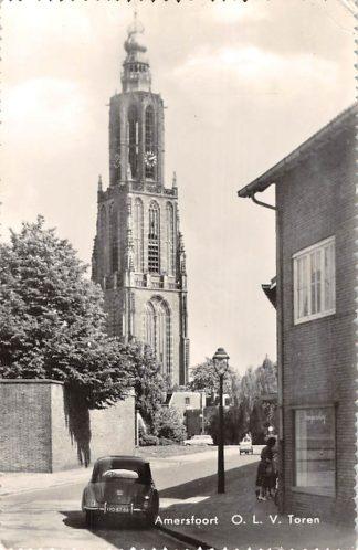 Ansichtkaart Amersfoort O.L.V. Toren Auto 1961 HC7703