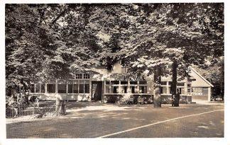 Ansichtkaart Maarn Hotel Café Restaurant De Pyramide van Austerlitz Zeist 1957 HC7723