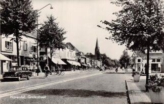 Ansichtkaart Nijverdal Grotestraat Auto Kerk1961 HC7728