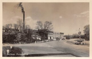 Ansichtkaart Berlikum Friesland Zuivelfabriek 1957 HC7733