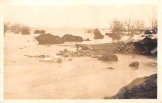 Ansichtkaart Ouderkerk aan den IJssel Fotokaart Watersnoodramp Ondergelopen gebied Gouderak HC7736