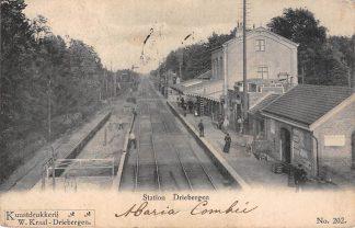 Ansichtkaart Driebergen Station 1902 Spoorwegen Treinen HC7746