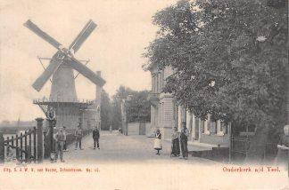 Ansichtkaart Ouderkerk aan den IJssel Molen Van Nooten Schoonhoven No. 110 HC7749