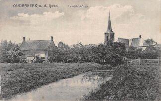 Ansichtkaart Ouderkerk aan den IJssel  Landzicht Dorp HC7757