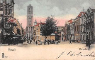 Ansichtkaart Utrecht Mariaplaats Tram 1902 HC7759