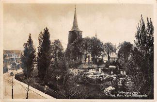 Ansichtkaart Rotterdam Hillegersberg Begraafplaats Ned. Hervormde Kerk Hillegonda 1936 HC7799