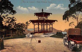 Ansichtkaart Brazilië Rio de Janeiro Vista Chineza Tijuca Auto 1911 Zuid-Amerika HC7808