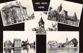 Ansichtkaart Graft De Wadde De Rijp West-Graftdijk Oost-Graftdijk Ned. Hervormde Kerk Beemster Schermer HC7819