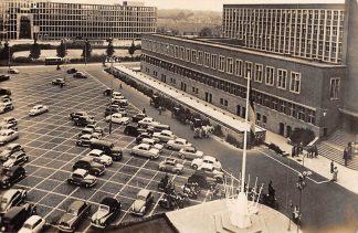 Ansichtkaart Den Haag Burg. De Monchyplein Auto Paard en wagens 1959 HC7844
