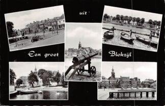 Ansichtkaart Blokzijl Een groet uit 1964 HC7851