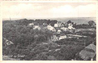 Ansichtkaart Groet (NH) Gezicht op Groet 1953 HC7866