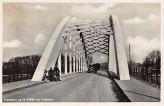 Ansichtkaart Eefde Kanaalbrug te Eefde bij Zutphen Auto 1933 HC7875