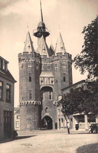 Ansichtkaart Zwolle Gevaert fotokaart Stadspoort 1947 HC7890