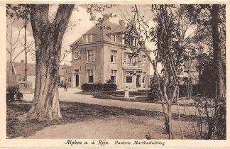 Ansichtkaart Alphen aan den Rijn Pastorie Marthastichting HC7946