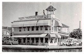Ansichtkaart Alphen aan den Rijn Reclame Hotel Café Restaurant 's Molenaarsbrug Auto HC7952