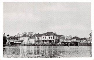 Ansichtkaart Alphen aan den Rijn 's Molenaarsbrug Hotel Café Restaurant 1956 HC7967