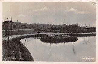 Ansichtkaart Alphen aan den Rijn Boschpark 1937 HC7971