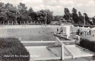 Ansichtkaart Alphen aan den Rijn Zwembad 1966 HC7975