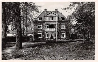 Ansichtkaart Alphen aan den Rijn Pastorie Martha Stichting 1951 HC7990