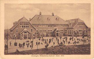 Ansichtkaart Alphen aan den Rijn Koningin Wilhelmina - School Anno 1914 HC7991