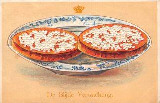 Ansichtkaart Amsterdam 1909 Reliefkaart De Blijde Verwachting van geboorte Juliana Koningshuis HC8101