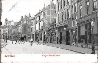 Ansichtkaart Nijmegen Lange Burchtstraat rond 1900 HC8136