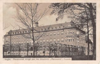 Ansichtkaart Vught Pensionnat dirige par les Ursulines Mariaoord Facade 1915 Den Bosch HC8141