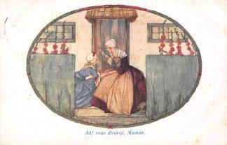 Ansichtkaart Fantasie Rie Cramer Ah! vous dirai-je, maman Uit Bergereites Illustrator 1931 HC8150