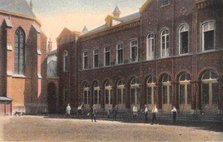 Ansichtkaart Katwijk aan den Rijn St. Will. College Speelplaats Kleinenburg 1925 HC8157