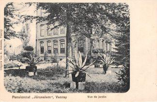 Ansichtkaart Venray Pensionnat Jerusalem Vue de jardin 1920 Limburg HC8160