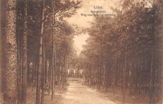 Ansichtkaart Uden Retraitehuis Weg naar den Calvarieberg 1923 HC8179