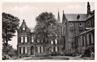 Ansichtkaart Oudewater R.K. Pastorie 1951 HC8225