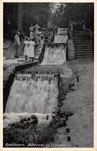 Ansichtkaart Apeldoorn Waterval bij Loenen (GD) HC8246
