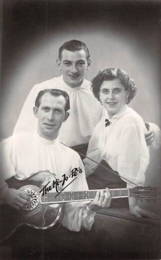 Ansichtkaart Onbekend Trio The-Hi-Jo-Pe's Muziek HC8247