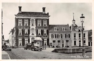 Ansichtkaart Goes Kleine Kade Auto 1957 HC8262