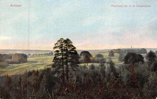 Ansichtkaart Arnhem Panorama van af de Steenentafel Militair verzonden 1915 HC8298