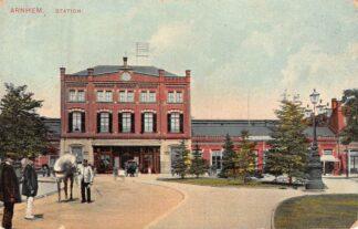 Ansichtkaart Arnhem Station Spoorwegen HC8306