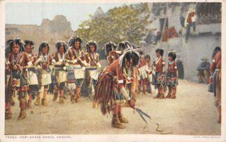 Ansichtkaart USA Indian Hopi Snake dance Arizona Indianen Verenigde Staten Noord-Amerika HC8311