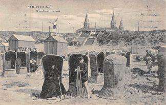 Ansichtkaart Zandvoort Strand met Kurhaus 1908 HC8313