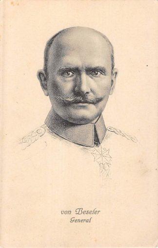 Ansichtkaart Duitsland General von Beseler Der Eroberer von Antwerpen Militair 1914-1918 WO1 Deutschland Europa HC8324