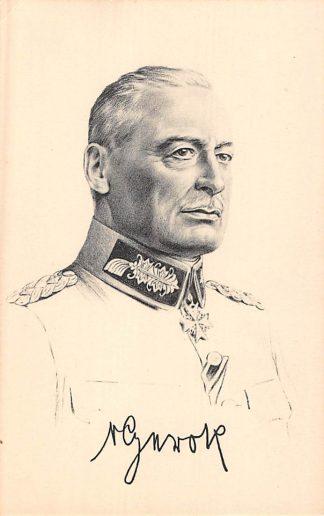 Ansichtkaart Duitsland Gen. D. Inf. von Gerok Militair 1914-1918 WO1 Deutschland Europa HC8325