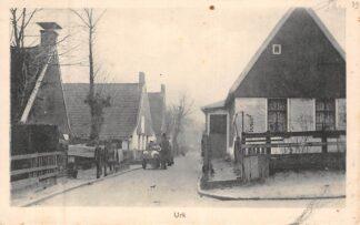 Ansichtkaart Urk Gezicht in het dorp 1925 HC8336
