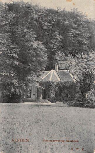 Ansichtkaart Arnhem Tuinmanswoning Bronbeek 1907 HC8373
