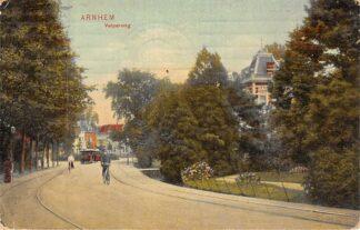 Ansichtkaart Arnhem Velperweg met paardentram tram 1911 HC8378