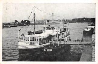 Ansichtkaart Arnhem Bootdienst Westerbouwing - Arnhem v.v. Rederij Koppe & Heymen Rijn 1959 HC8400