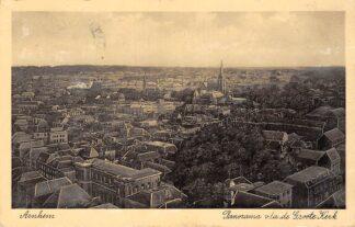 Ansichtkaart Arnhem Panorama v/a de Groote Kerk 1937 HC8410