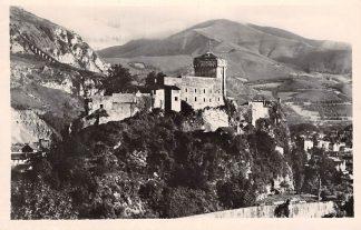Ansichtkaart Frankrijk Lourdes Le Chateau Fort et le Haut du Pic du Jer 1951 France Europa HC8416
